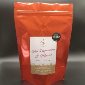 Red Peppercorn & Hibiscus mulling spice packet