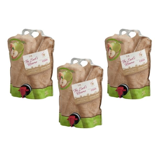 Earls Reserve x 3 Pouches