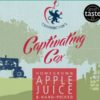 Captivating Cox Apple Juice Label