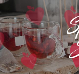 Valentines day mulled cider